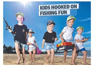 Juniors Hooked Up in Townsville